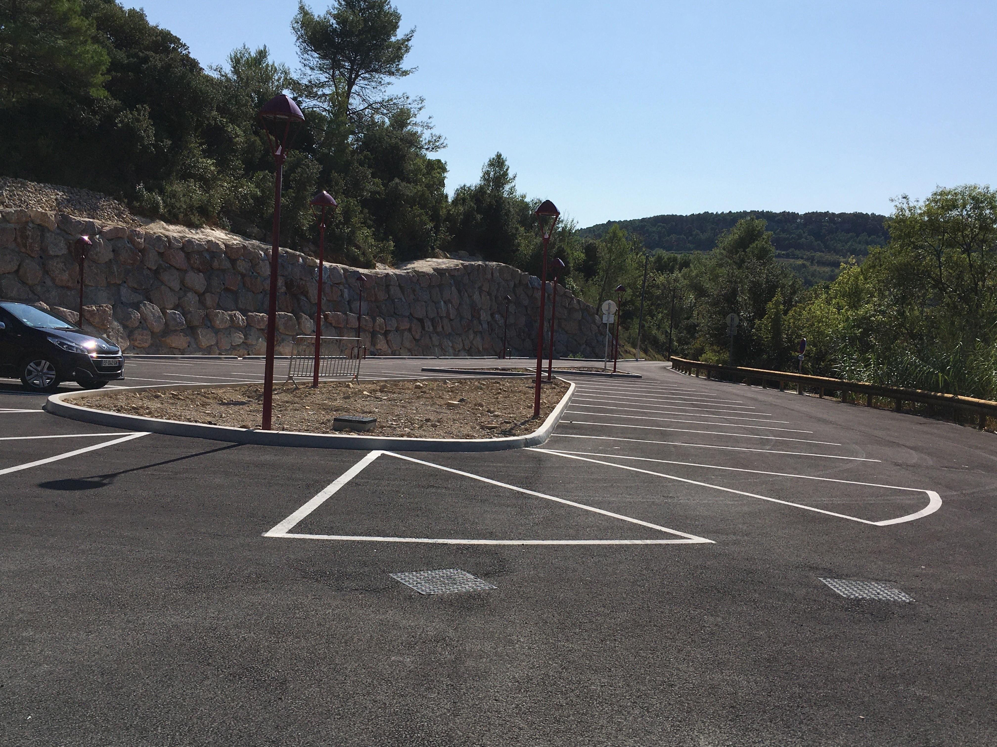le parking à arborer