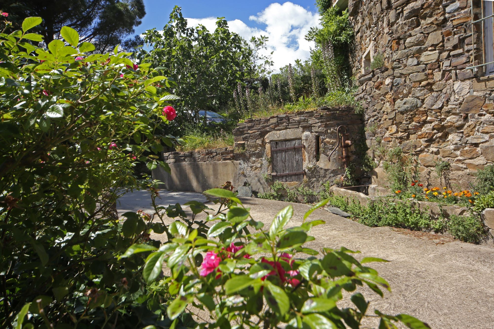 Les murs de schistes