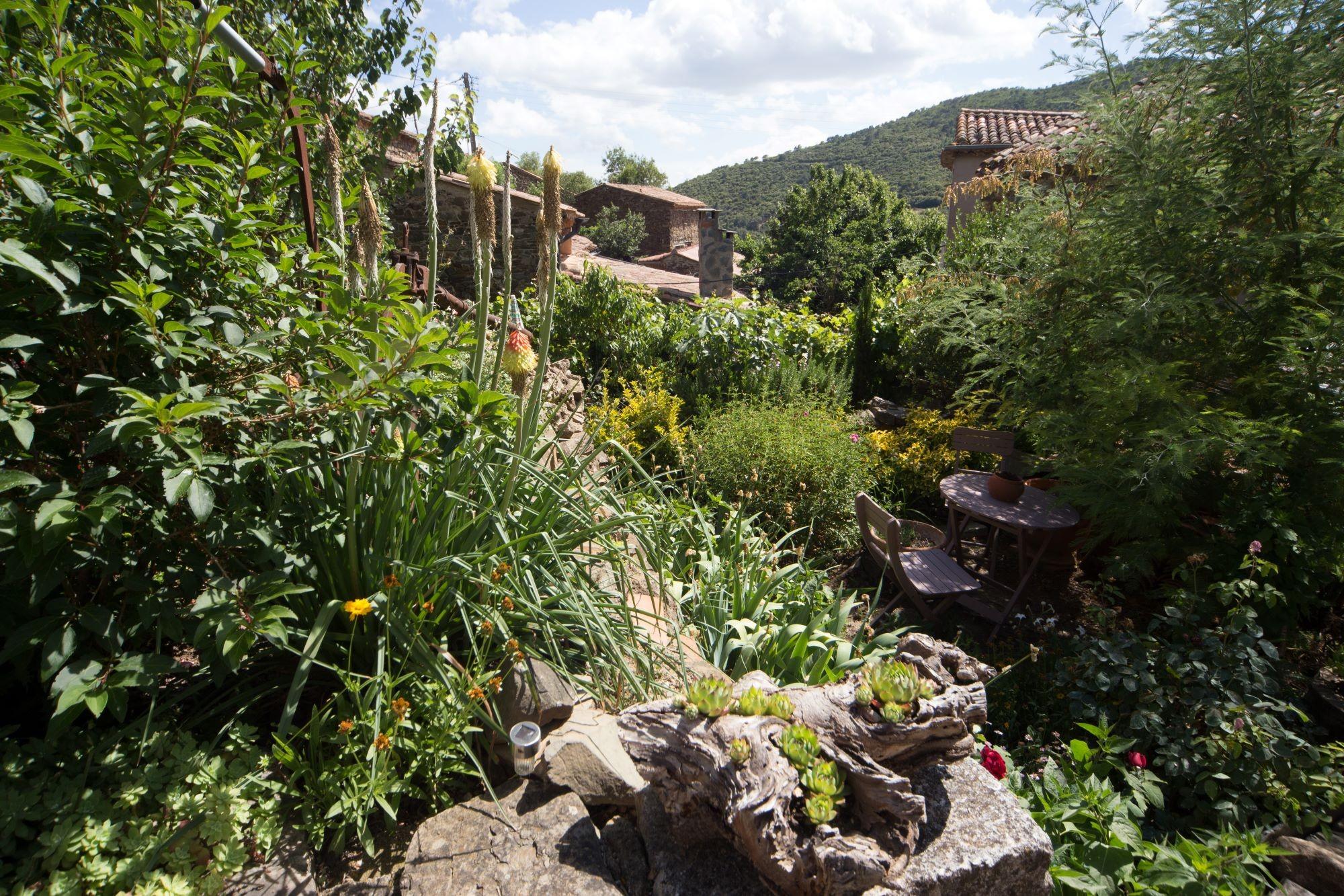 le jardin paisible